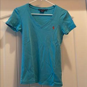 Four Ralph Lauren Polo sport shirts, size medium